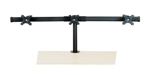 Value Triple LCD Arm, Desk Clamp, black
