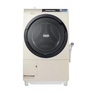 日立 10.0kg ドラム式洗濯乾燥機【左開き】ライトベージュHITACHI BD-S8600L-C