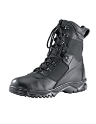 Mens Boots - Forced Entry Tactical W/Side Zipper, Black by Rothco