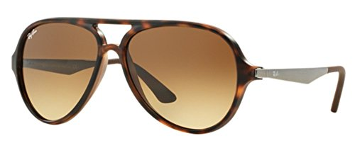 ray-ban-cat-aviator-rb-4235-matte-havana-sunglasses-free-kit-gifts