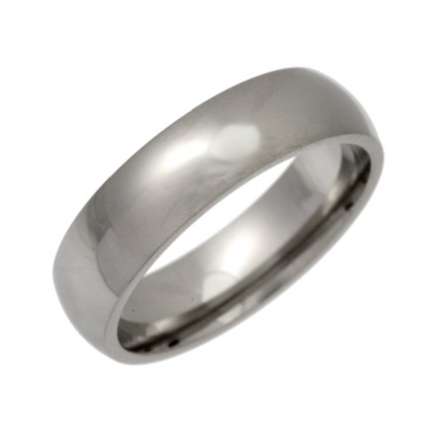 Palladium Wedding Ring, Heavy Weight Court Shape, 5mm Band Width