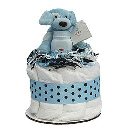 Blue Sparky Cupcake front-22679