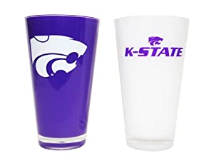 NCAA Kansas State Wildcats 20-Ounce Insulated Tumbler - 2 Pack