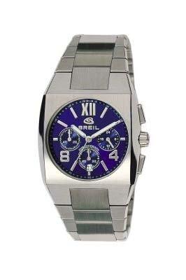 Breil Gents kult Blue Chronograph Dial Stainless Steel Bracelet Watch 2519740707