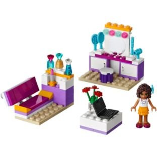 LEGO® Friends Andrea's Bedroom Playset.