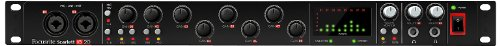 Focusrite Scarlett 18I20 Usb 2.0 Audio Interface With Eight Focusrite Microphone Preamplifiers