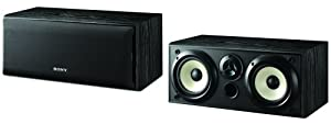 Sony SS-CN5000 Dual Center Channel Speaker (Each, Black) (Discontinued by Manufacturer)