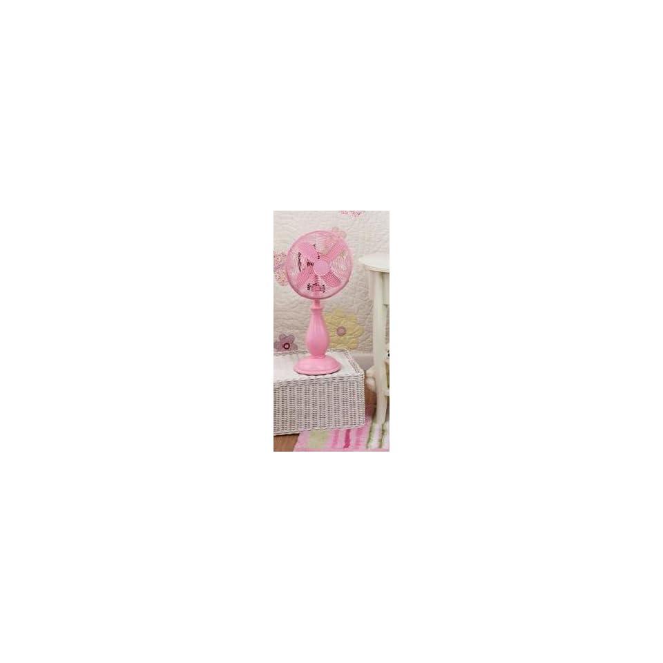 Deco Breeze Newport Table Fan in Pink