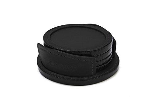 korchmar-frost-leather-coaster-r1073-black