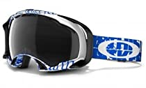 Oakley Splice Snow Goggle, Tagline Tarp Blue with Dark Grey Lens