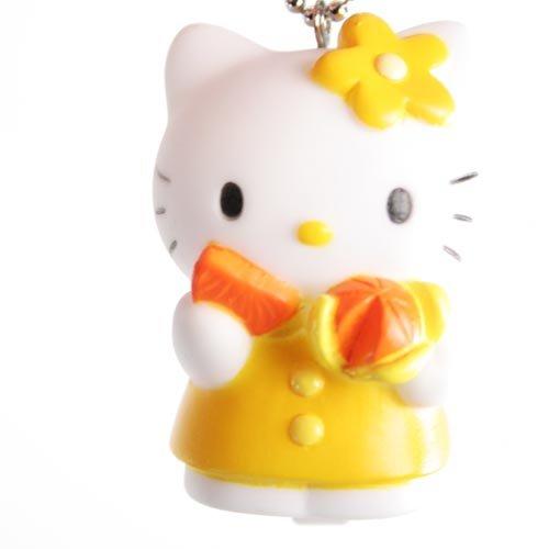 Hello Kitty Flasher Light - Orange w/ an Orange Fruit