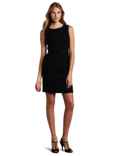 Trina Turk Women's Mirren Dress, Black, 8