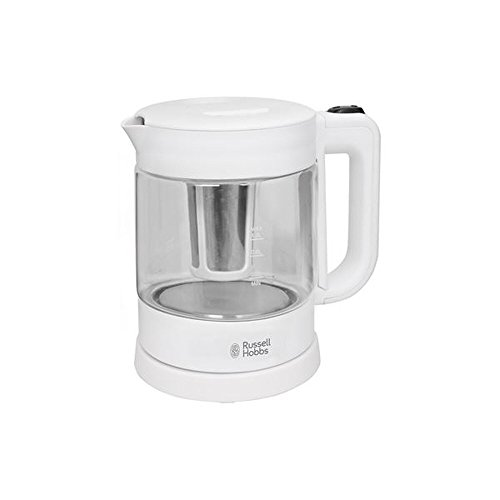 Russell Hobbs 2 in 1 Tea Maker Purity Tempered Glass Electric kettle 1.0L RH-S3001TM (Glass Kettle Russell Hobbs compare prices)