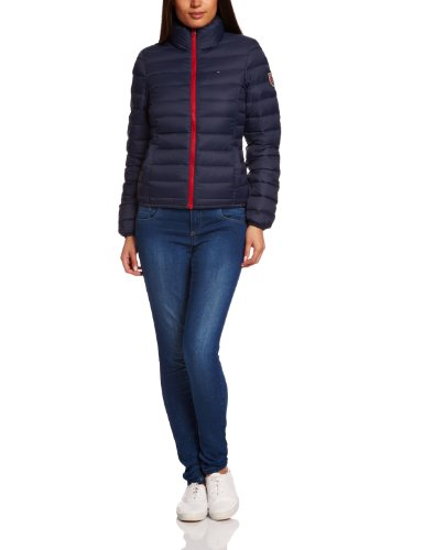 hilfiger denim damen jacke slim fit eva down jacket. Black Bedroom Furniture Sets. Home Design Ideas