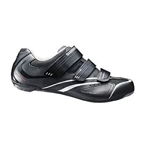 Shimano 2014 Men's All-Around Road Cycling Shoes - SH-R078 (Black - 45)