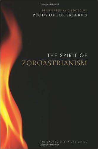 The Spirit of Zoroastrianism written by Prods Oktor Skj%C3%A6rv%C3%B8