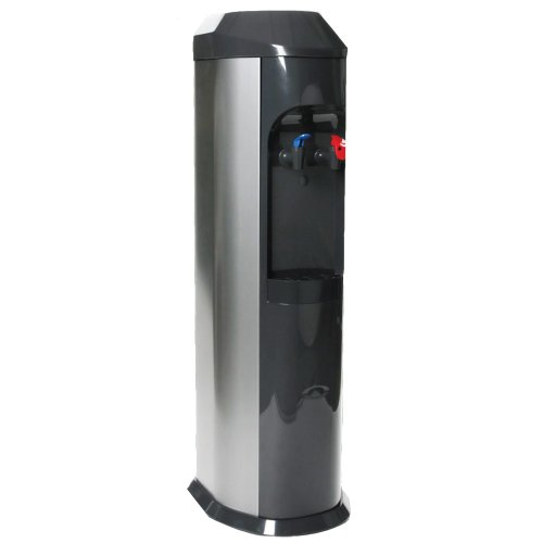 Stainless Steel BottleLess Water Purification Cooler with 1,200-Gallon capacity water filtration and installation kit. From BottleLess Direct (Model: BDX1-SK). Dispenses Hot & Cold water. Stainless Steel cabinet