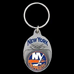 New York Islanders Team Key Ring - NHL Hockey Fan Shop Sports Team Merchandise