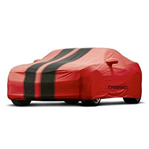 2010-2012 Chevrolet Camaro Custom Fit Car Cover OEM Outdoor - Red with