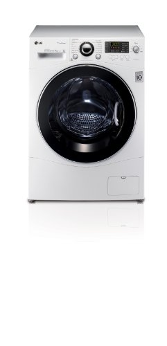 LG F1480QDS 1400rpm 7kg Steam Direct Drive Washing Machine White