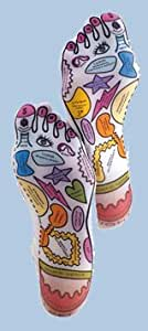 Basic Knead Reflexology Sox - Form Fitting Foot Socks for Massage Therapy