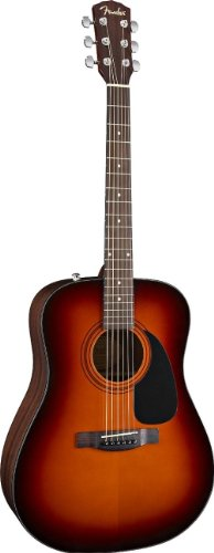 Fender per CD 60SB Sunburst-Chitarra western