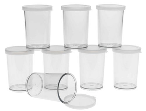 Cuisipro Donvier Yogurt Maker Jars, Set Of 8