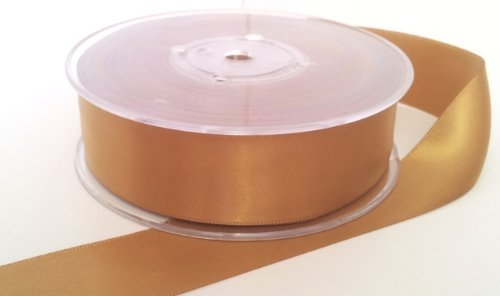 1-metre-of-vintage-gold-double-faced-satin-25mm-wide