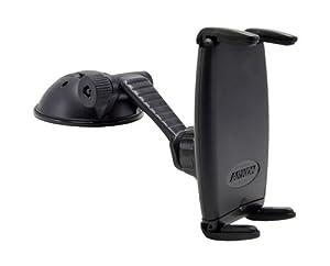 Arkon Slim-Grip Desktop Flat Surface Dashboard Travel Mount Holder for Samsung Galaxy S3 S III & Other Smartphones - Black