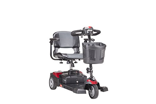 Drive Medical Scout DLX Compact Travel Scooter, 3 Wheel (Electric Chairs compare prices)