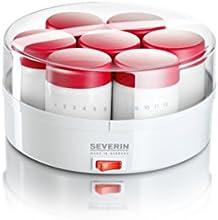 Comprar Severin 3519 - Yogurtera de 14 tarros (13 W, 14 frascos vidrio)