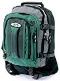 Jeep Backpack Rucksack Hand Luggage Size Cabin Flight Bag Various Colour (Green)