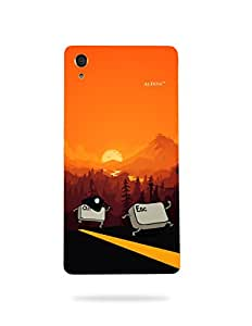 alDivo Premium Quality Printed Mobile Back Cover For Sony Xperia C6 Ultra / Sony Xperia C6 Ultra Back Case Cover (MKD181)