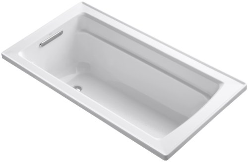 Fantastic Deal! KOHLER K-1123-0 Archer 5-Foot Bath, White