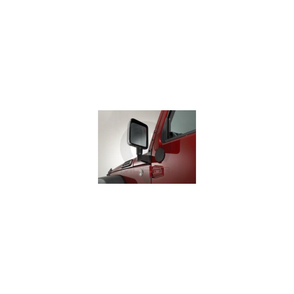 2011 2013 Jeep Wrangler Body Mount Mirror Relocation Brackets Mopar OEM