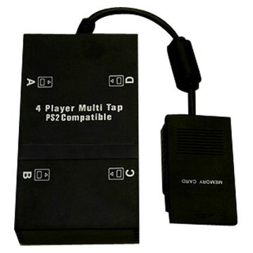 PS2 Multi-Player Adapter (Aftermarket Multitap for Playstation 2)