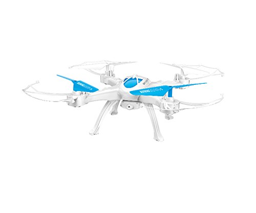 Drone Quadcopter Aircraft X-16, 6 Ejes, 2.4G, Cámara HD De 2 Mpx Azul
