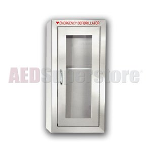 STAINLESS Tall Basic (Surface Mount) Cabinet - AMP184-SSSM