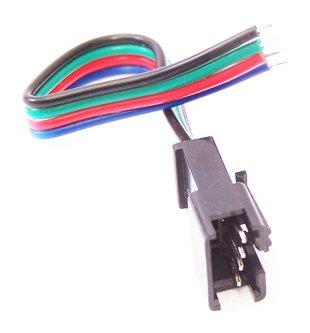 Brilliant Brand Lighting Seasonal Decoration Rgb 12V Male Power Connector (Controller Plug)