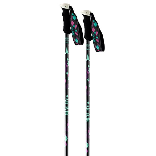 Atomic Amt3 W 2015 Womens Ski Poles In Black 120cm, Black
