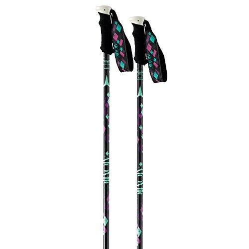 Atomic Amt3 W 2015 Womens Ski Poles In Black 120cm, Black