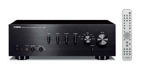 Yamaha A-S500BL Integrated Stereo Amplifier (Black)