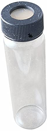Thomas Borosilicate Glass Clear Certified Vial