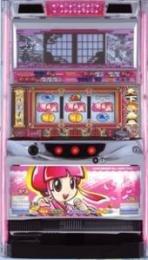 【大都技研】新・吉宗(姫ver) 【中古パチスロ実機/フルセット】家庭用電源OK!