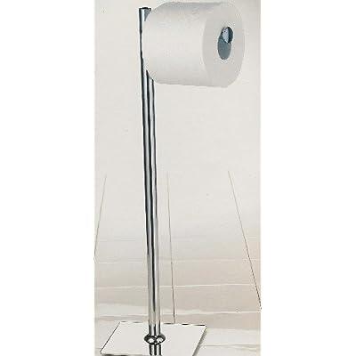 chrome modern toilet paper stand tissue roll