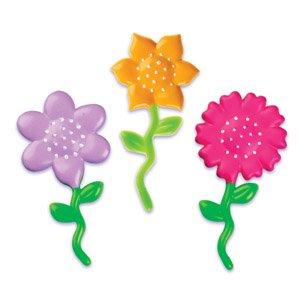 Flower Cupcake Picks - 12 Ct