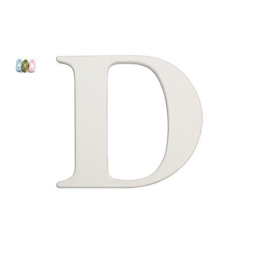 Koala Baby Uppercase Wall Letter D - White - 1
