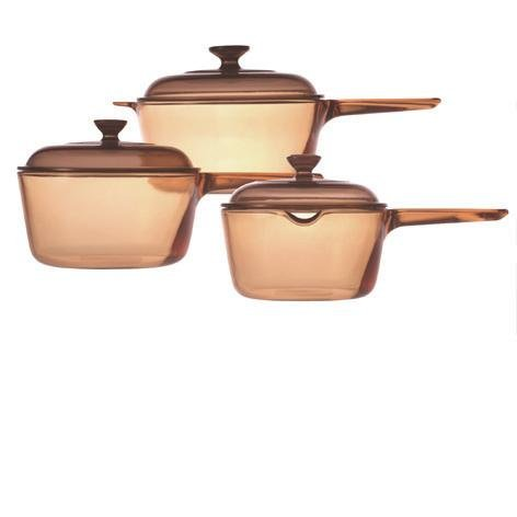 Visions 6pc Saucepan Set