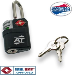 American Tourister Search Indicator Travel Sentry Key Lock (TSA Approved)