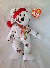 Ty Beanie Baby, 1998 Holiday Teddy